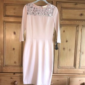 ERIN Erin Fetherston Cameo Rose Dress Sequin Lace